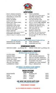 seafood fort walton